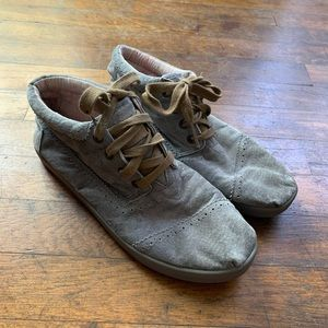 Toms Chukka Booties Shoes Suede